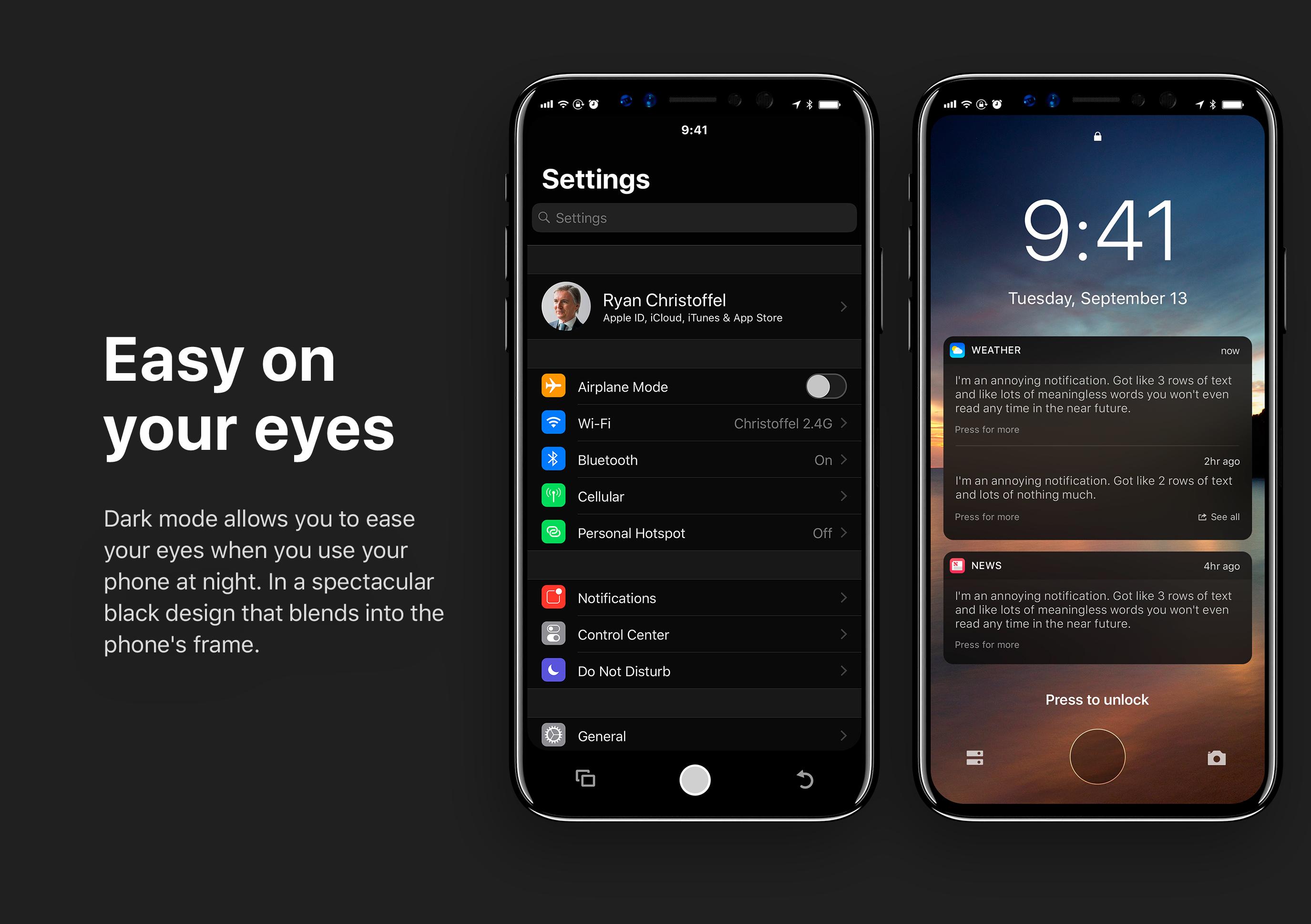 IOS 11: Dark Mode (Smart-Invert) Aktivieren
