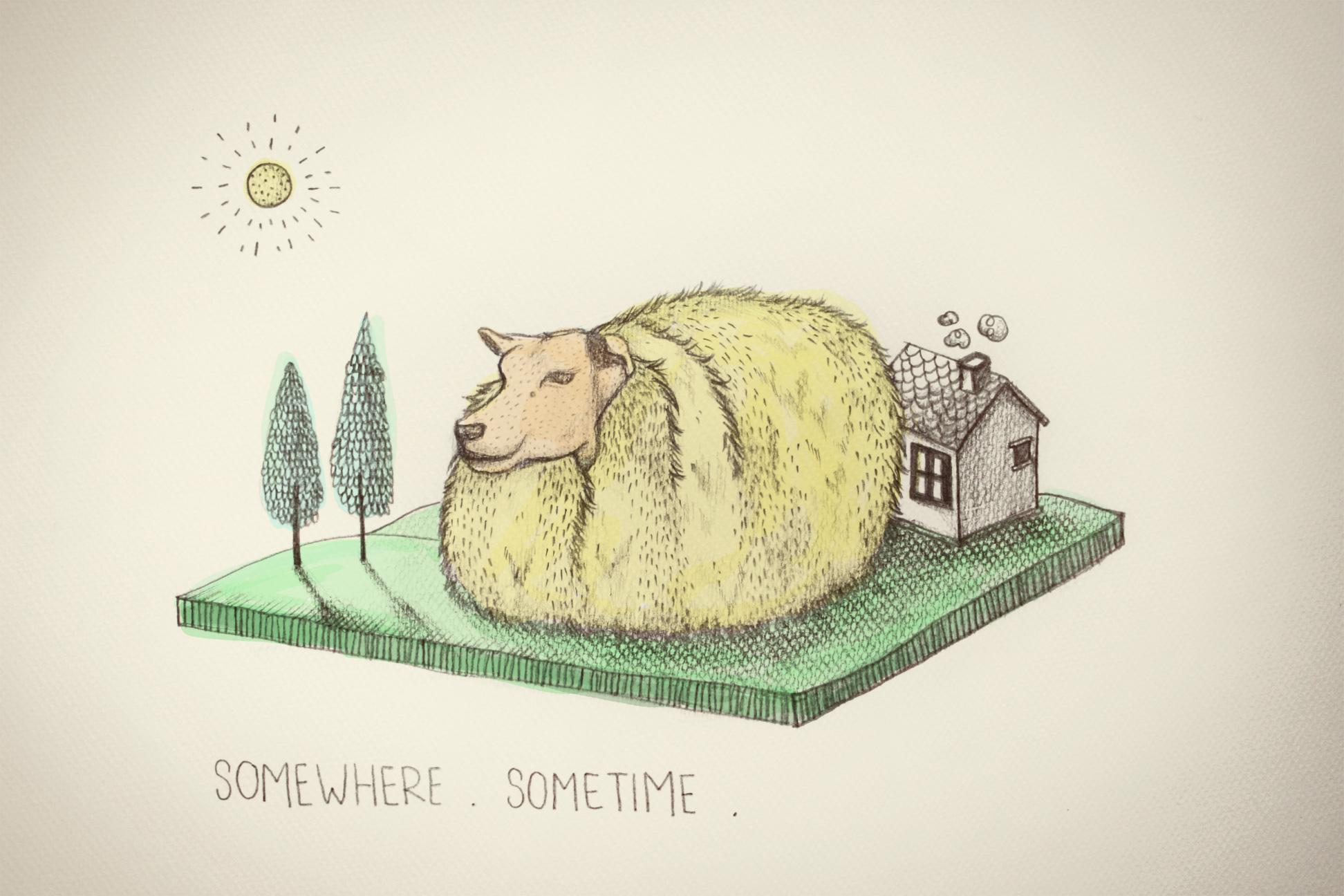 Let's go somewhere sometime!