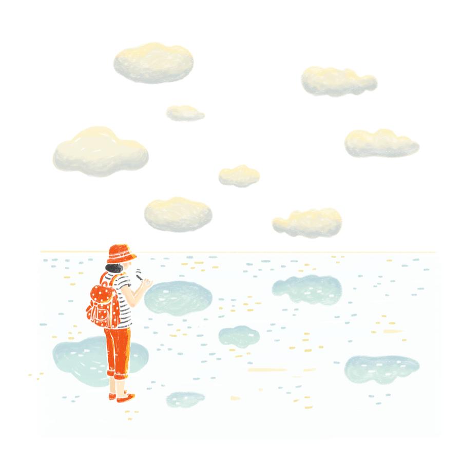 Under the Sky, On the Beach