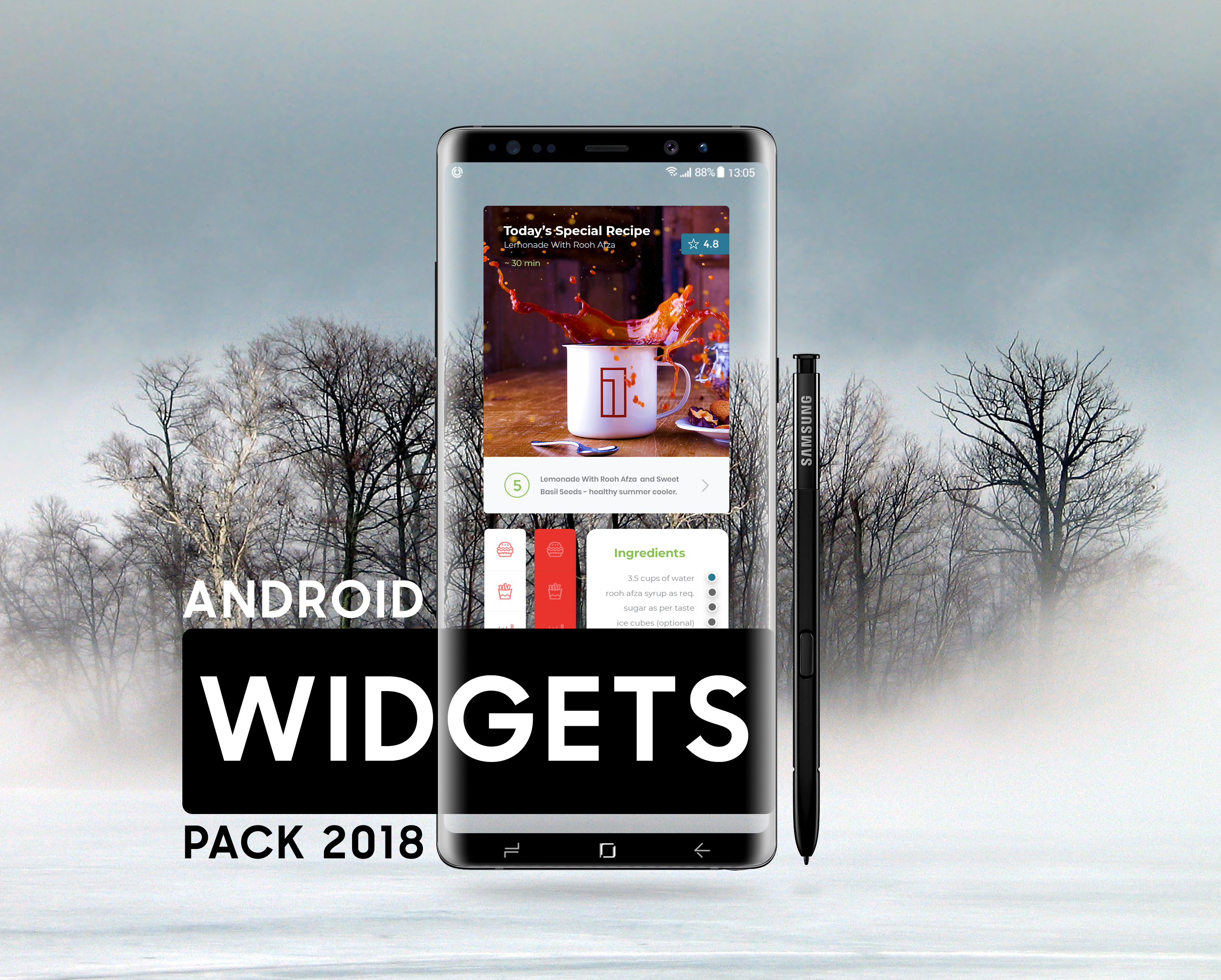 Widgets Page - UpLabs