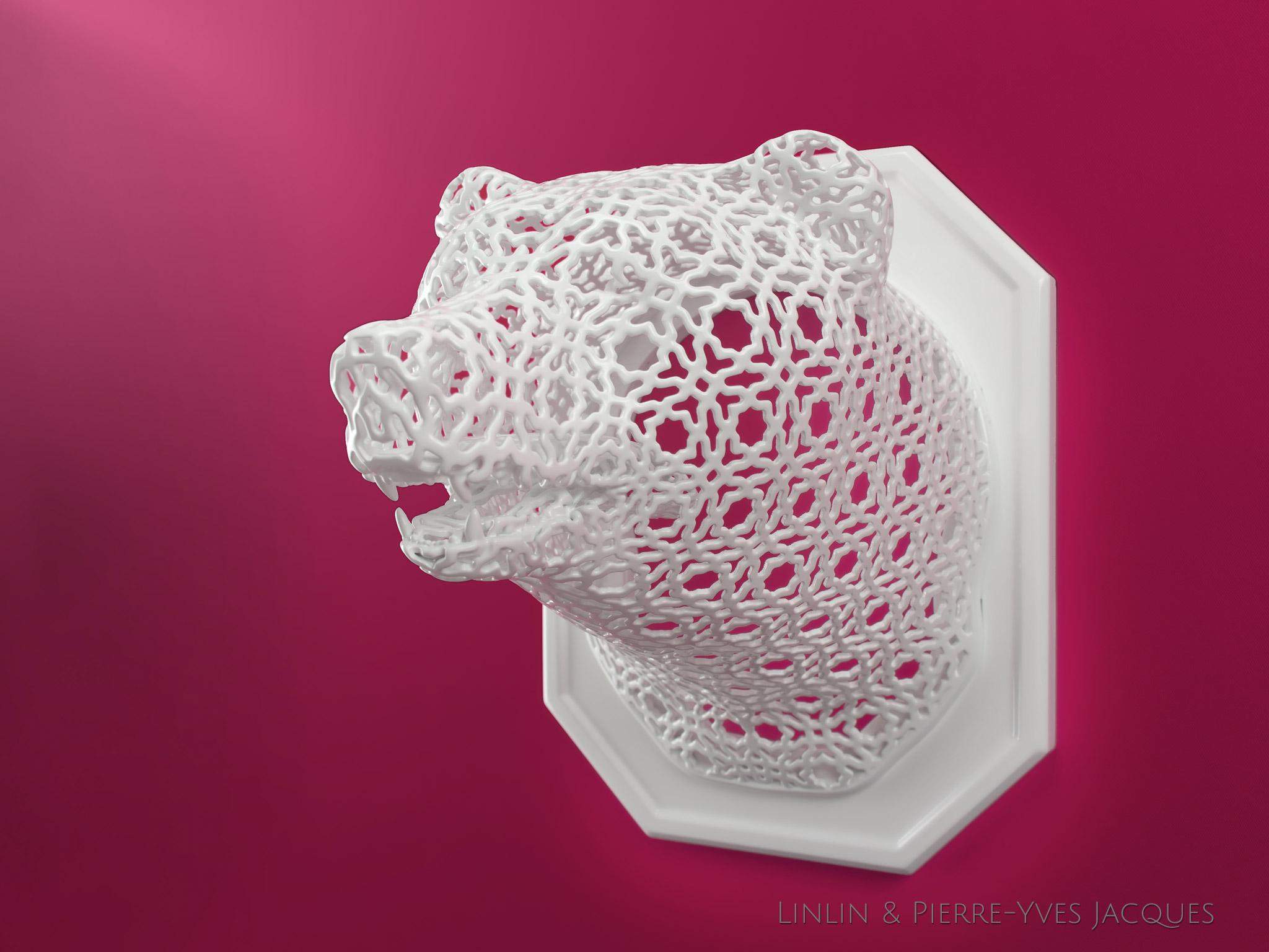Bear [Animal Lace]