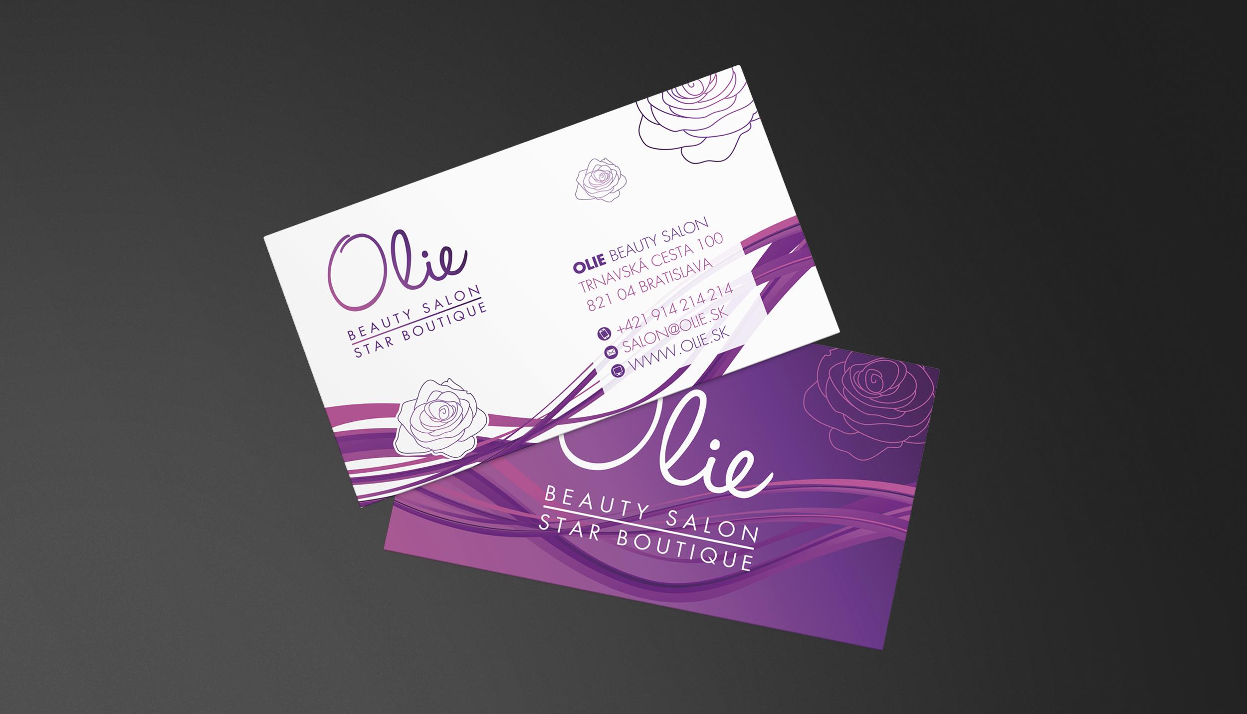 Brand Identity for Beauty Salon OLIE