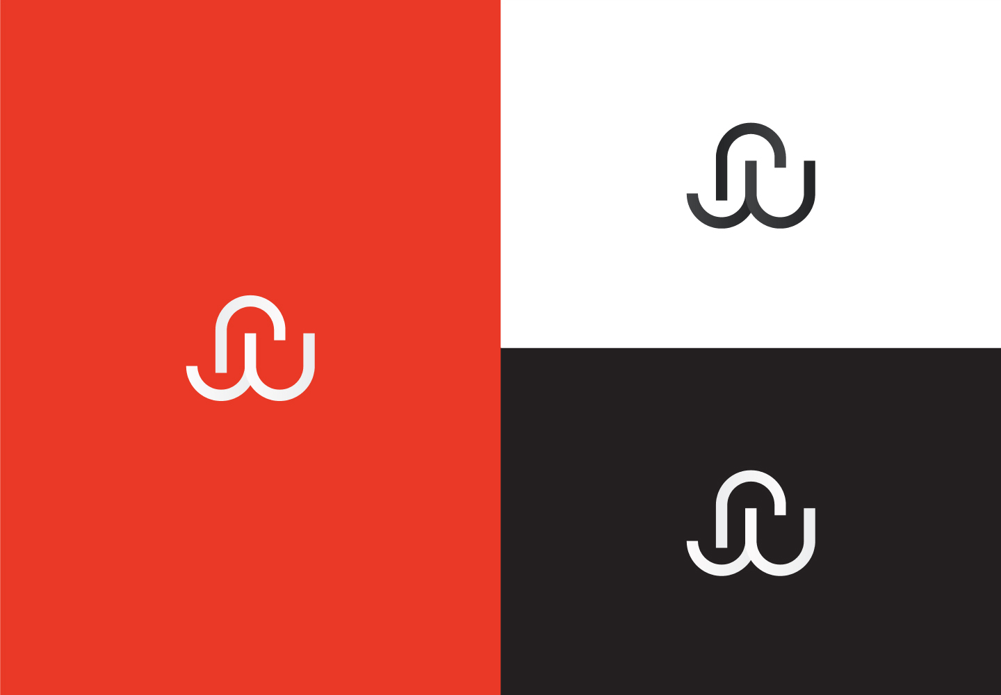 Logo on different backgrounds