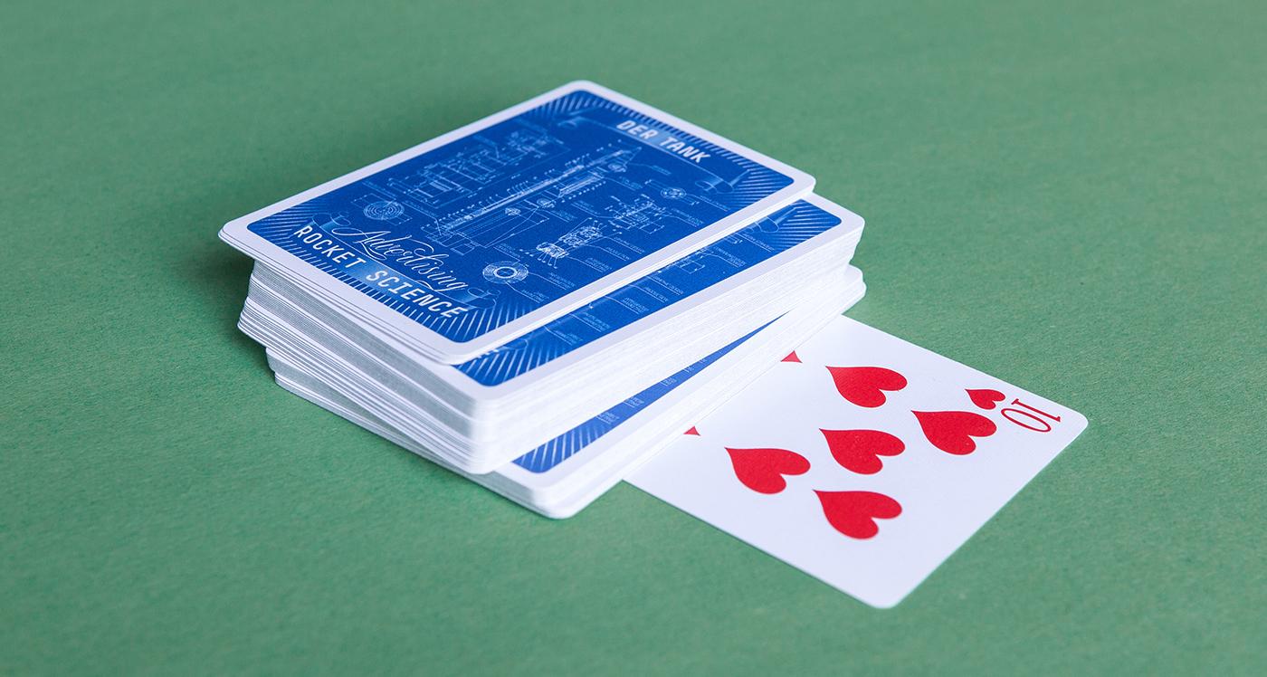 Tank – Advertising Rocket Science Playing Cards