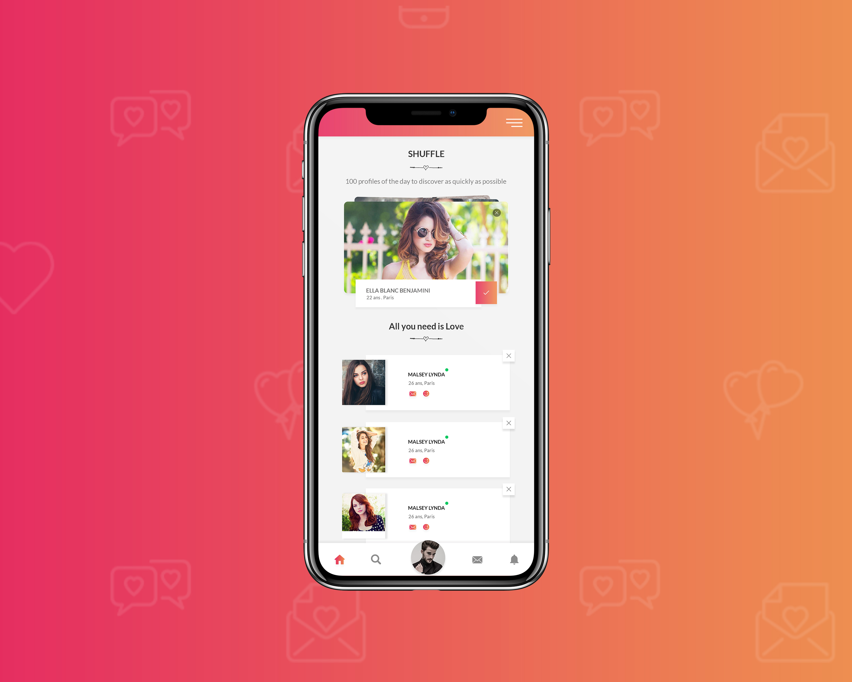 designe en dating app god online dating håndterer