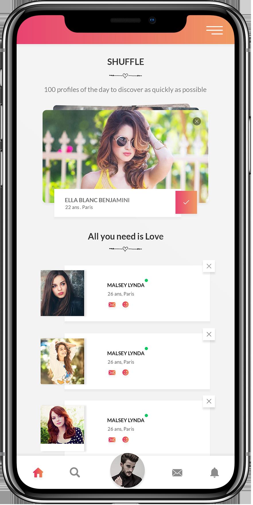 Dating apps paris