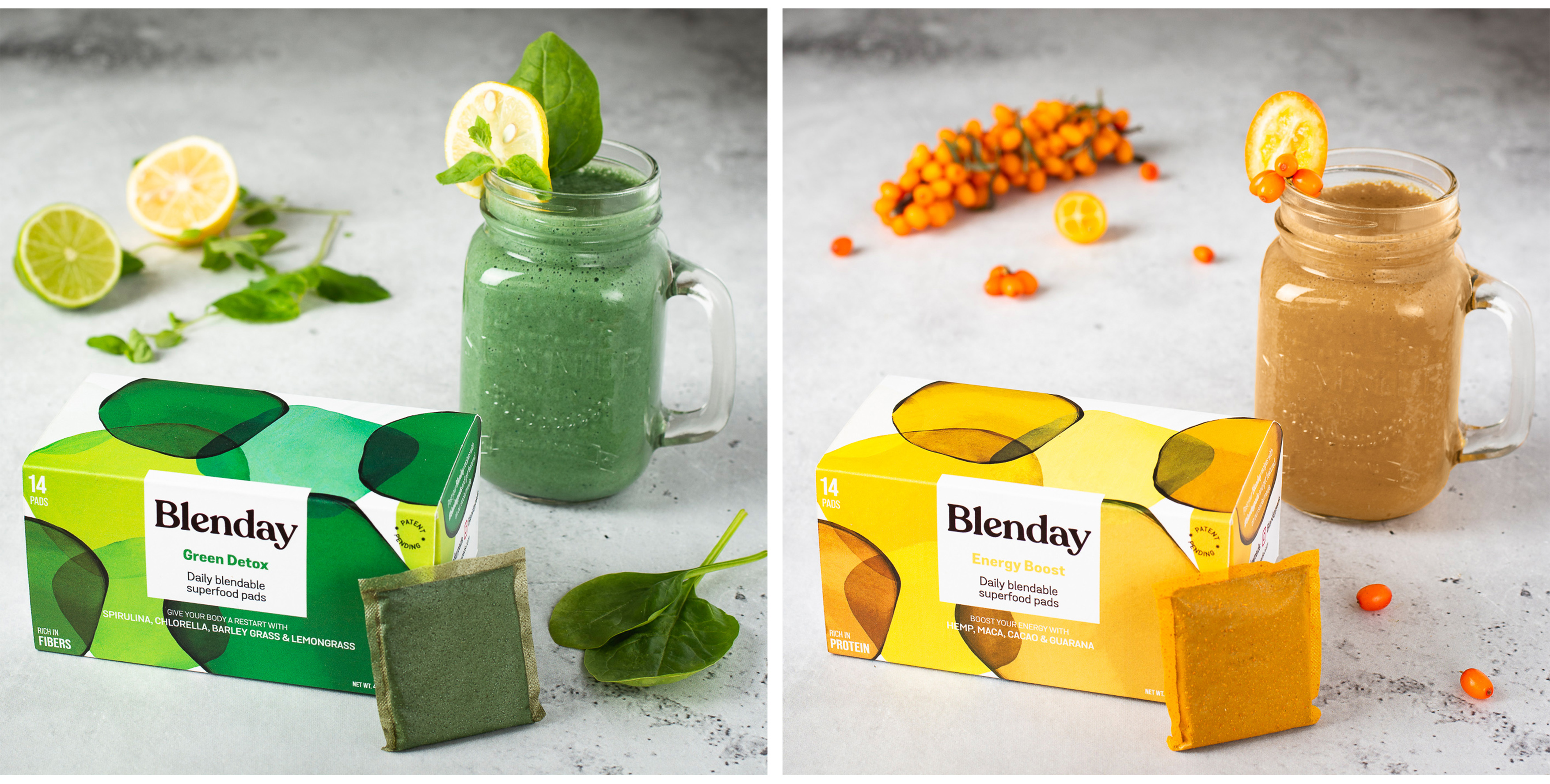 Blenday packaging