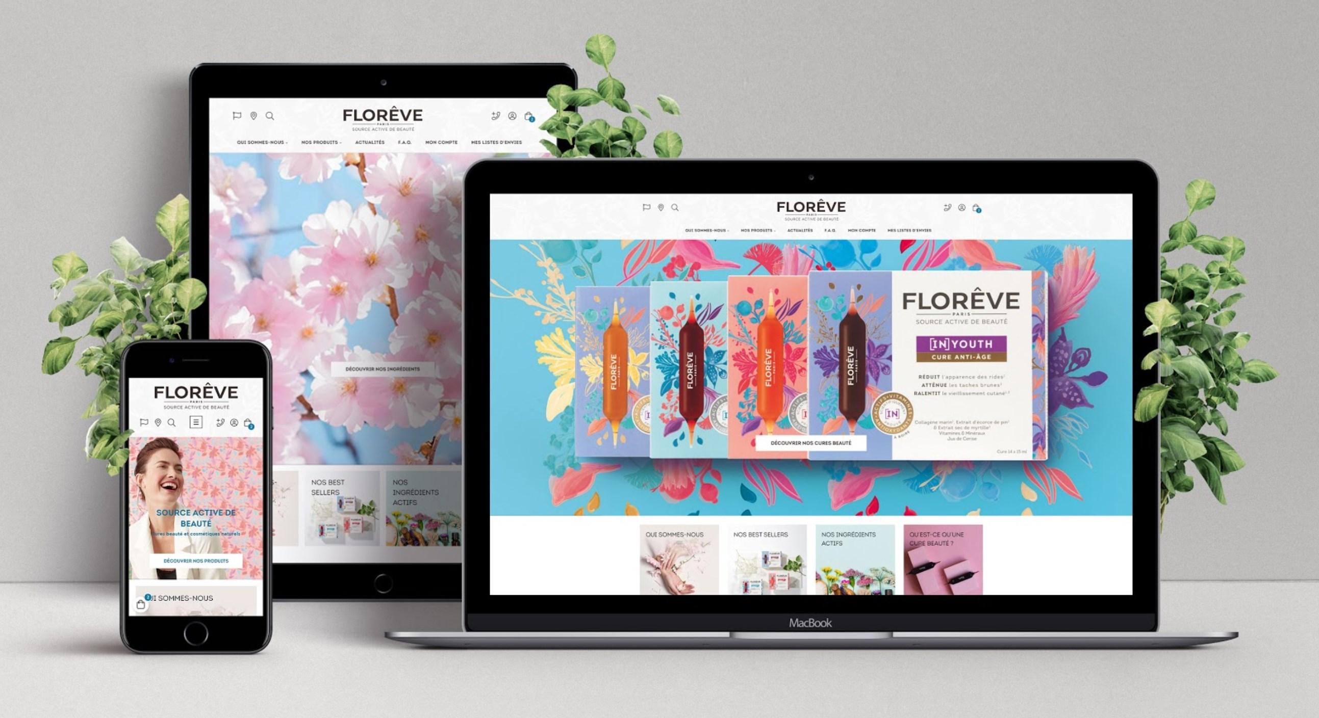 Florêve Paris Website