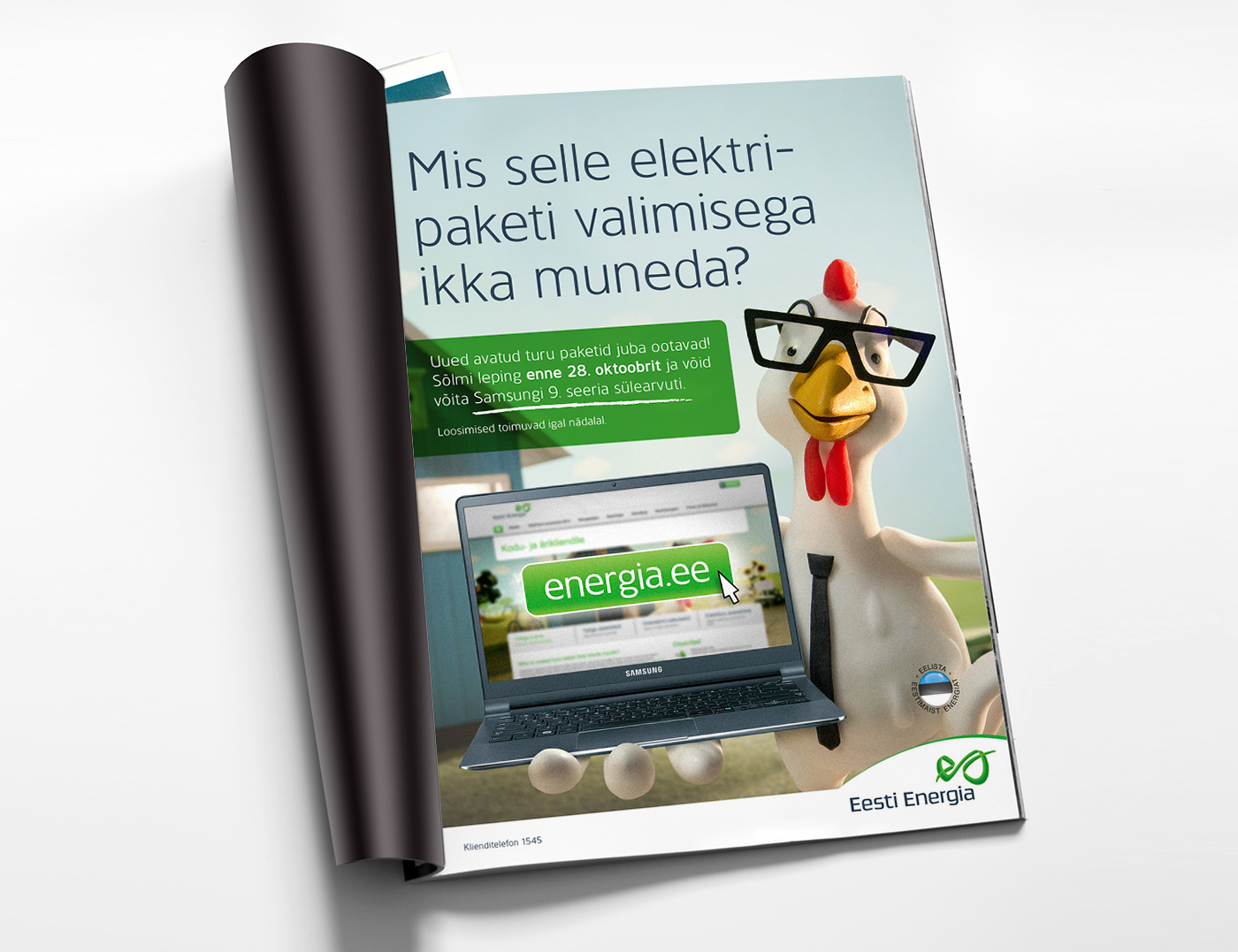 Eesti Energia – The Electricity Market is Now Open
