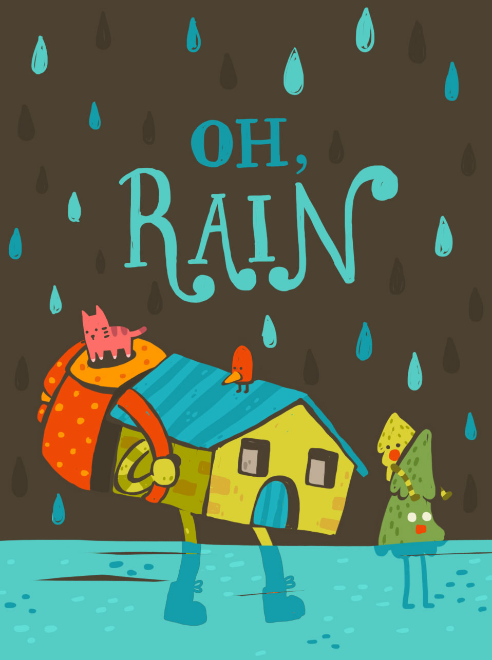 It's not you, Rain!
