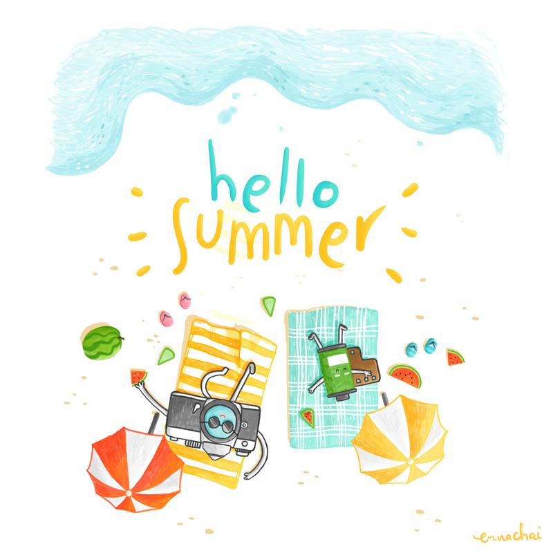 It's June! It's Summer!
