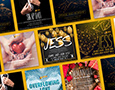 A collection of Social Media Post designs that promotes Hope House of Praise