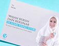 Vivaldy skin clinic's greeting card that says 'Wajah Bersih dan Bersinar di Hari Yang Fitri - Selamat Hari Raya Idul Fitri 1440H'