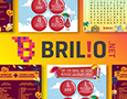 A collection of social media's posts for Brilio