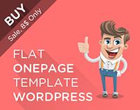 Roni - WP Flat OnePage Template