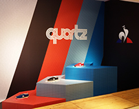 Escaparate Le Coq Sportif QUARTZ en Sneakers&co Born