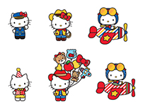 Hello Kitty Figurines Design