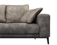 Cierre Ibiza sofa 3d model