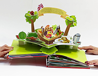 Bonduelle. Pop-up book