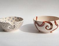 Patterned Yarn Bowls