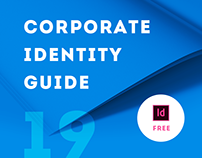 Corporate Identity Guide Prostudio [free InDesign file]