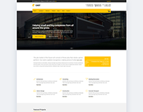 Web Design - Cast Construction WordPress Theme