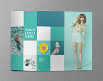 Cool Minimal Mint Brochure