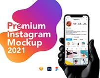 Instagram Mockup 2021 for Download