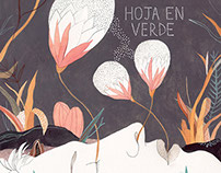 Album Cover Art | Hoja en Verde (Chile)