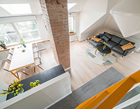 Penthouse apartment on Volta Str