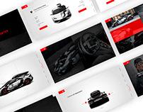 Lamborghini Huracan - Jon Olsson - Web Design