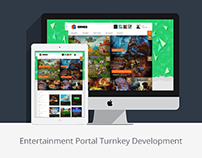 Entertainment Portal Turnkey Development