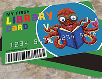 My First Library Card Illustration and Design