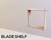 Shelf for books - BLADE SHELF -