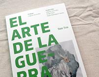 Diseño de portada —El arte de la guerra de Sun Tzu