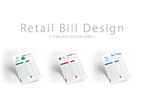 Retail Bill Template