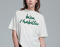 "Dress Up ""bien s'habiller"" collection identity"