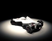 BAC Mono - 3D Render
