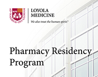 Recruitment Brochure and Banner - Pharmacy