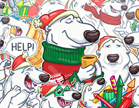 Сhristmas is Сoming. Telegram official sticker pack.