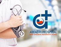 Awadh Hospital   BRANDING & IDENTITY