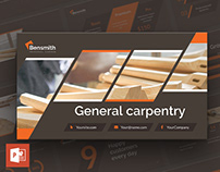 Carpenter PowerPoint Presentation Template