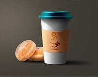 تصميم شعار كافي #قهوتي