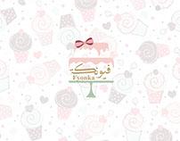 Fyonka cake shop Logo Branding