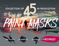 45 Paint Masks + Free Stuff