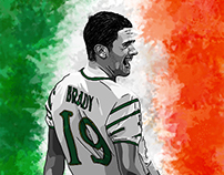 Euro 2016 - Ireland Illustrations