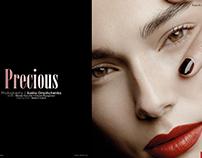 """Precious"" Beauty Editorial"