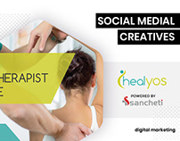 Facebook Ad creatives for HealYos by BrandzGarage