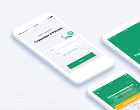 Mobile app for insurance company