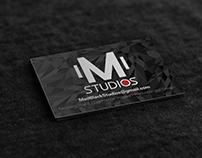 M Studios Business Card